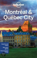 Lonely Planet reisgids Montreal & Quebec